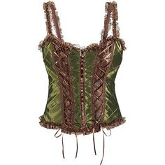 Wood Nymph Corset - New Age & Spiritual Gifts at Pyramid Collection ($70) ❤ liked on Polyvore