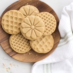 Peanut butter stamped cookies nordicware these classic peanut butter cookies feature a simple and sweet nutty flavor that will make you come back for more. Holiday Cookie Recipes, Easy Cookie Recipes, Holiday Cookies, Holiday Baking, Baking Recipes, Dessert Recipes, Classic Peanut Butter Cookies, Peanut Butter Cookie Recipe, Shortbread