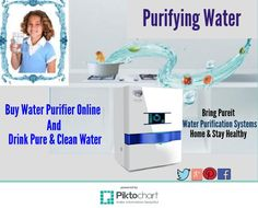 Bring #PureitHome and Drink pure and cleanwater by #PurifyingWater from #Pureit #WaterFilters.