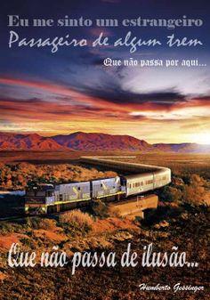 Estrangeiro, passageiro de algum trem