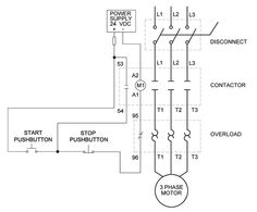3 Phase 240V Motor Wiring Diagram (With images
