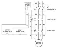 forward reverse phase ac motor control star delta wiring diagram full voltage non reversing motor diagram