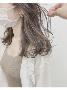 Brown Hair Korean, Ash Brown Hair, Brown Hair With Highlights, Haircuts For Medium Hair, Medium Hair Styles, Long Hair Styles, Hair Arrange, Grunge Hair, Hair Inspo
