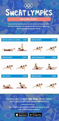 Kayla Itsines Olympics Workout