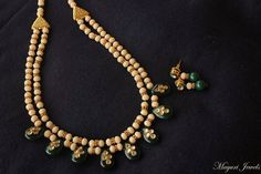 Semi-Precious Beaded Necklace Set