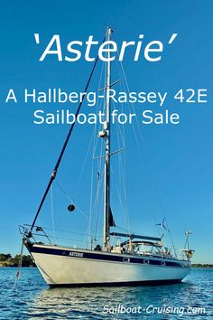 Descriptive text and pictures of the Hallberg-Rassy sailboat, on deck and below. Used Sailboats For Sale, Sailboat Cruises, Sailing Ships, Deck, Pictures, Photos, Front Porches, Decks, Sailboat