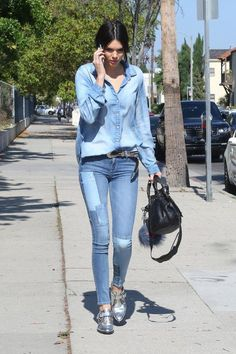 The Kendall Jenner shoe envy is real—we love her fashion style