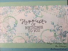 Stampin Up! - Occasions Catalog, Timeless Textures & Birthday Blooms