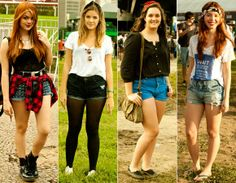 Moda rua - Shorts jeans