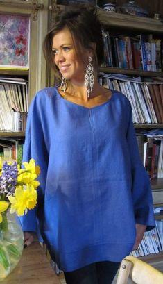 Cotton Kaftan, Periwinkle, Fashion Outfits, Womens Fashion, Dress Up, Tunic Tops, Style Inspiration, My Style, Soft Autumn
