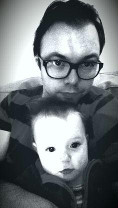 Lillejenta og meg:-)