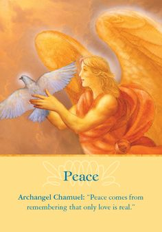 Oracle Card Peace | Doreen Virtue | official Angel Therapy Web site