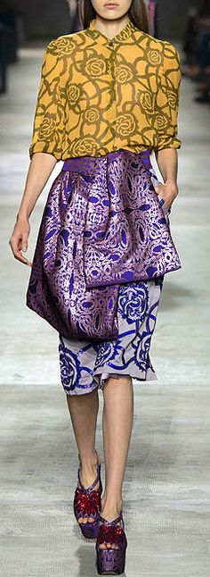 Dries von Noten Ready To Wear Spring Summer 2016