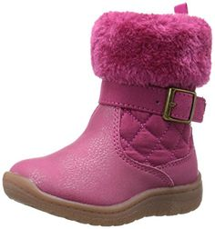 OshKosh B'Gosh Honey G Quilted Winter Fashion Boot (Toddler/Little Kid). Care wipe clean with a damp cloth. Winter Fashion Boots, Fashion Shoes, Winter Shoes, Winter Quilts, Waterproof Winter Boots, Cold Weather Boots, Oshkosh Bgosh, Duck Boots, Boys Shoes