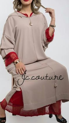 Morrocan Dress, Moroccan Caftan, Mode Abaya, Arabic Dress, Hijab Fashionista, Abaya Fashion, Traditional Dresses, Dress Patterns, Plus Size Fashion