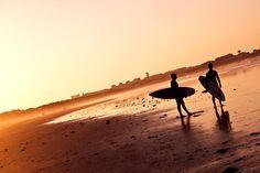 Sun set -peniche portugal 2011