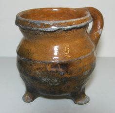 MEDIEVAL, 15TH CENTURY PIPKIN CAULDRON - FOUND POTTERGATE, NORWICH !