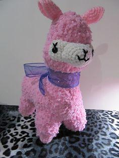 Alpaca amigurumi crochet pattern Toys, Alpacas and Planets
