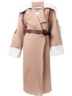 Купить Gwen Salakaia пальто с поясом .