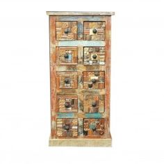 Liberty Reclaimed Wood Chest of 10 Drawers
