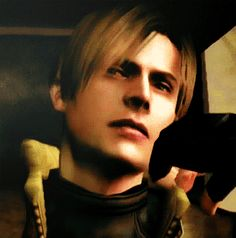 Leon S. Kennedy, Resident Evil 4.  Playing this game for the first time was amaziiinnnnnng.....