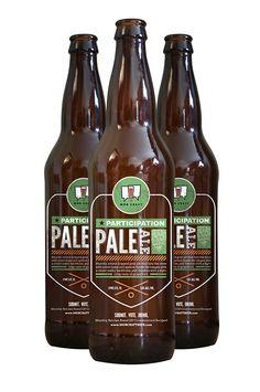 MobCraft Pale Ale Label by Dillon Nelson, via Behance