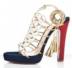 Christian Louboutin Salsbourg Suede 120mm Sandals