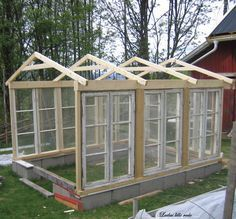 Now You Can Build ANY Shed In A Weekend Even If You've Zero Woodworking Experience! Start building amazing sheds the easier way with a collection of shed plans! Greenhouse Farming, Greenhouse Plans, Old Window Greenhouse, Greenhouse Wedding, Small Greenhouse, Garden Wedding, Outdoor Projects, Garden Projects, Pergola Diy