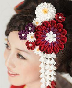 日本髪 結綿 梅の香