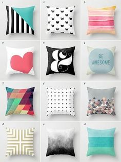 9 Respected Clever Ideas: Decorative Pillows On Bed Thoughts white decorative pillows lamps.Decorative Pillows With Buttons Easy Diy decorative pillows for teens wall art.Decorative Pillows On Bed Quilts. Cute Pillows, Diy Pillows, Decorative Pillows, Throw Pillows, Accent Pillows, Style Deco, Home And Deco, Pillow Design, Soft Furnishings