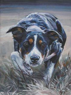Border Collie Dog art print