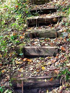 1000 id es sur le th me traverses de chemin de fer sur for Escalier exterieur en traverse de chemin de fer