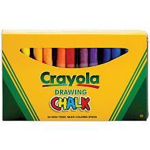 "Crayola Drawing Chalk - 24-Pack - Crayola - Toys ""R"" Us $ 7"