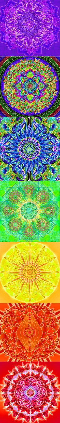 7 Chakra Mandala para Curar todos sus Chakras