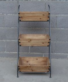 Look what I found on #zulily! Three-Tiered Box Cart by Galt International #zulilyfinds