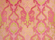 Designers GUild Cabriole in Camellia. Designers Guild, Fabric Wallpaper, Pattern Wallpaper, Pattern Sketch, Printed Cushions, Luxury Home Decor, Painting Patterns, Camellia, Cellphone Wallpaper