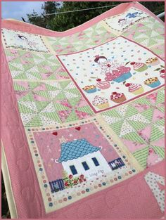Birthes rom: Barnequilt