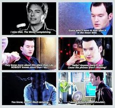 Ianto Jones, the voice of reason in an otherwise unreasonable universe...