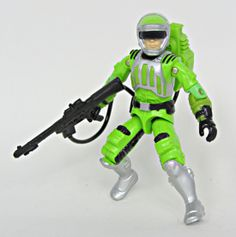 Sci-Fi, a laser trooper for the G.I.Joe team whose action figure was first released in 1986