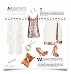 """""""Copper Fashion"""" by justangie76 ❤ liked on Polyvore featuring Thierry Mugler, STELLA McCARTNEY, ADORNIA, Roberto Coin, Anya Hindmarch and Chopard"""