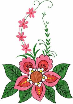 Flower free embroidery design 75 - Flowers free machine embroidery designs - Machine embroidery community