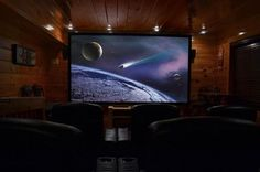 An Absolute High -- For added entertainment, guests can enjoy the amazing Home Theater room with a 120 inch Projection Screen, Blu-Ray DVD player and seating for up to 9.