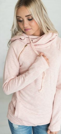 Think Pink - love this blush DoubleHood