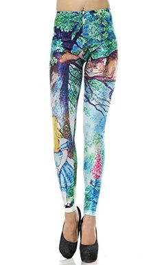 Dawafa Womens 3D Galaxy Pattern Sport Leggings Stretch Tight Yoga Pants 3XL -- To view further for this item, visit the image link. (Note:Amazon affiliate link) #Leggings
