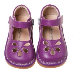 One of my favorites. Do you have a purple loving princess in the house. A beautiful purple Jane from Little blue lamb. Love our 'Lucy' Shoe. Beautiful quality squeaky shoe come in size 4-8. $29.90. Check out our full range of shoes over on our website. thebusykidsshop.com/