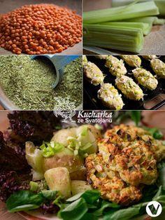 Kuchařka ze Svatojánu: PÓRKOVÉ KARBANÁTKY Sprouts, Low Carb, Vegetables, Food, Diet, Food And Drinks, Essen, Vegetable Recipes, Meals