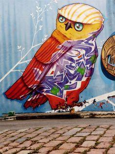 Artist:Binho Ribeiro Graffiti / street art , Urban art .. lets just call it ART.. https://www.etsy.com/shop/urbanNYCdesigns?ref=hdr_shop_menu