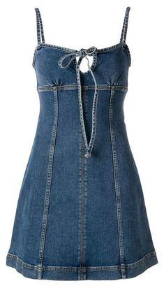 Denim Fashion, Boho Fashion, All Jeans, Denim Ideas, Denim And Lace, Recycled Denim, Diy Dress, Jeans Dress, Diy Clothes