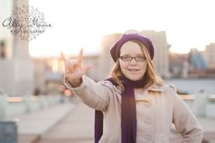 Senior Photography ASL American Sign Language Nashville, TN  www.allymoorephotography.com www.facebook.com/allymoorephotography