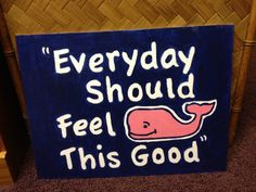Vineyard vines whale inspired artwork by on Etsy. Love the whale Vinyard Vines, Vineyard Vines Whale, Coolest Cooler, Roomspiration, Diy Canvas, Canvas Ideas, My New Room, Dorm Decorations, Projects To Try